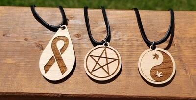 Necklaces, Wood, Trio