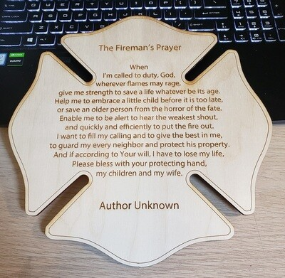 Fireman's Prayer, Baltic Birch