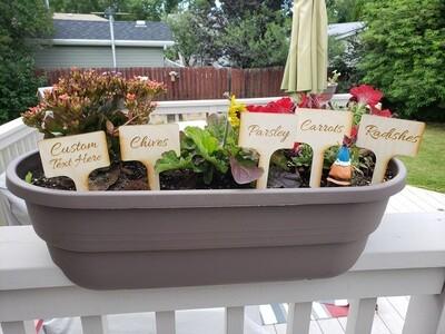 Garden Markers (Custom)- Large