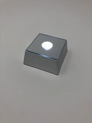 LED Square Base (Silver)