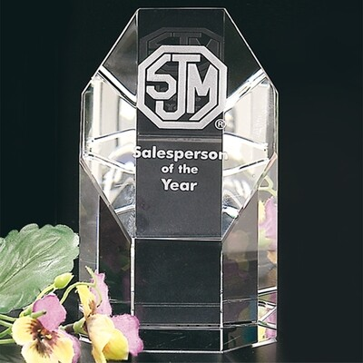 Amherst Award Crystal