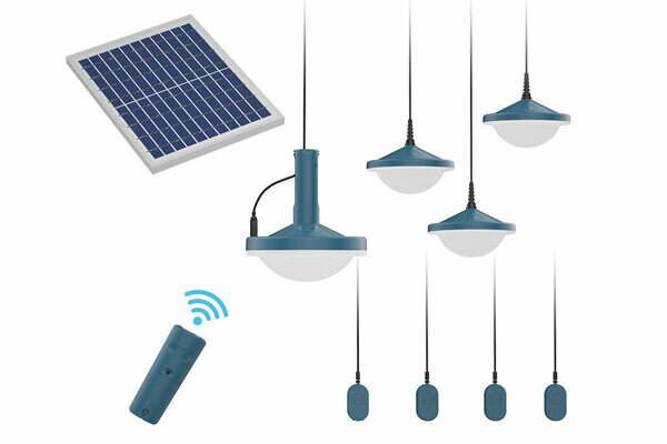 Omnivoltaic LUMN™ M600 Multi-Light Solar Kit