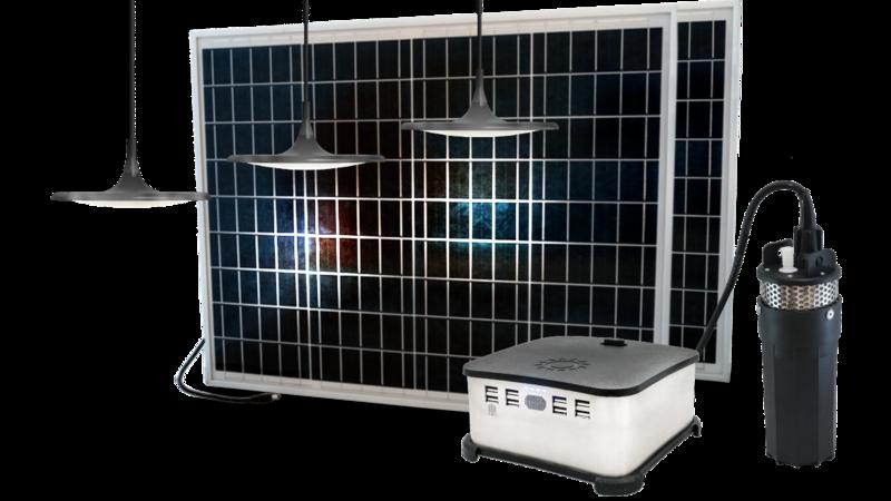 Solarworx Submersible Pump and Light Kit