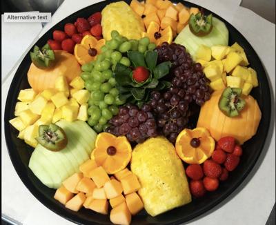 Fruit Platter (per person - min 10)