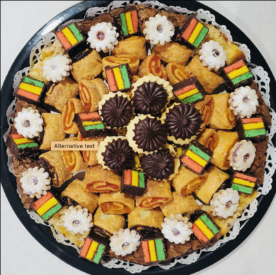 Pastry Platter (per person - min 10)