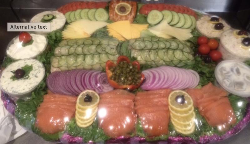 Fish & Cheese Platter (per person - min 10)