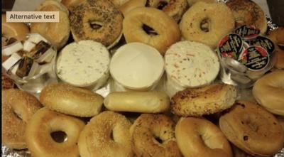 Bagel & Cream Cheese Platter (per person - min 10)