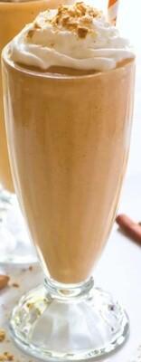 Pumpkin milkshake
