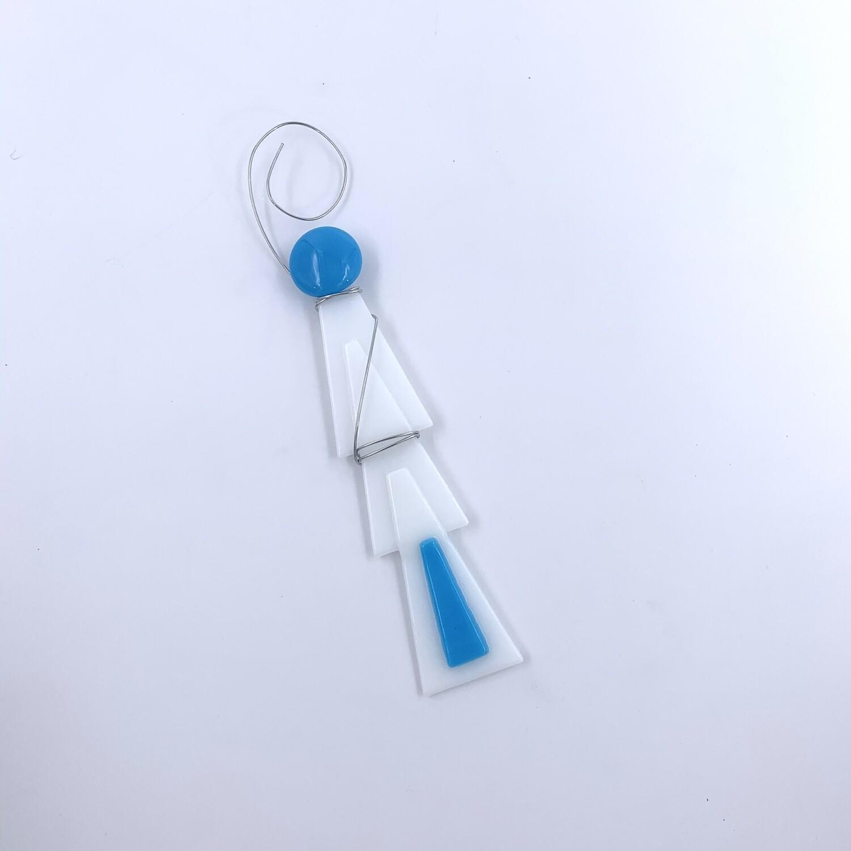 Fused Glass Ornament