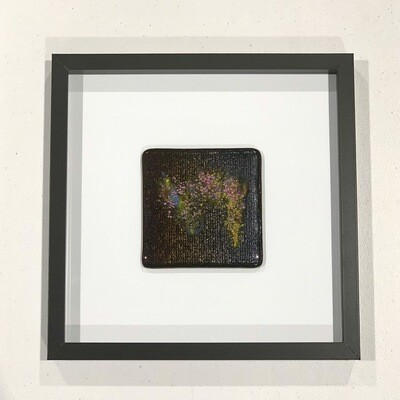 Textured Fused Glass - Wall Hanging