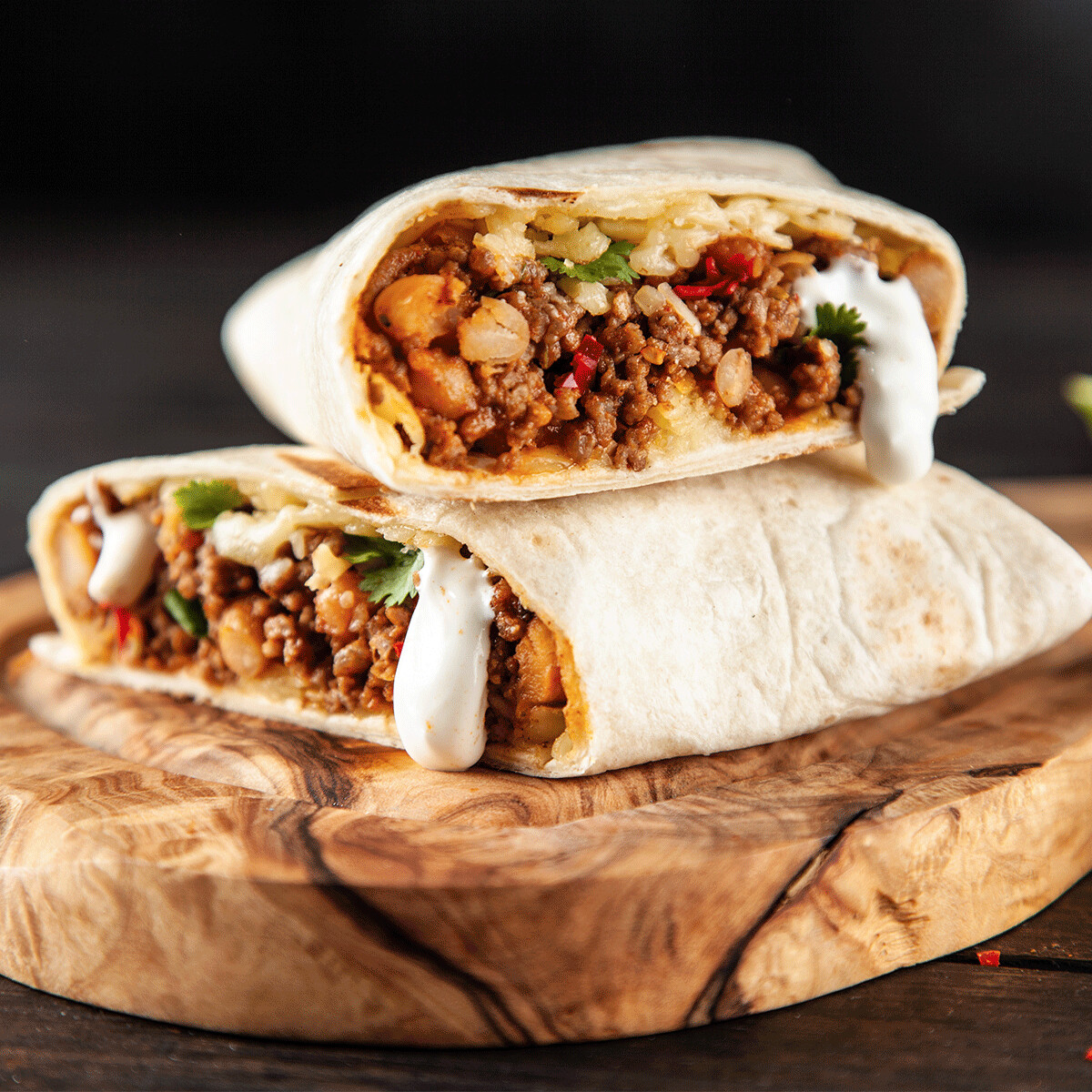 SAMPLE. Al Pastor Burrito