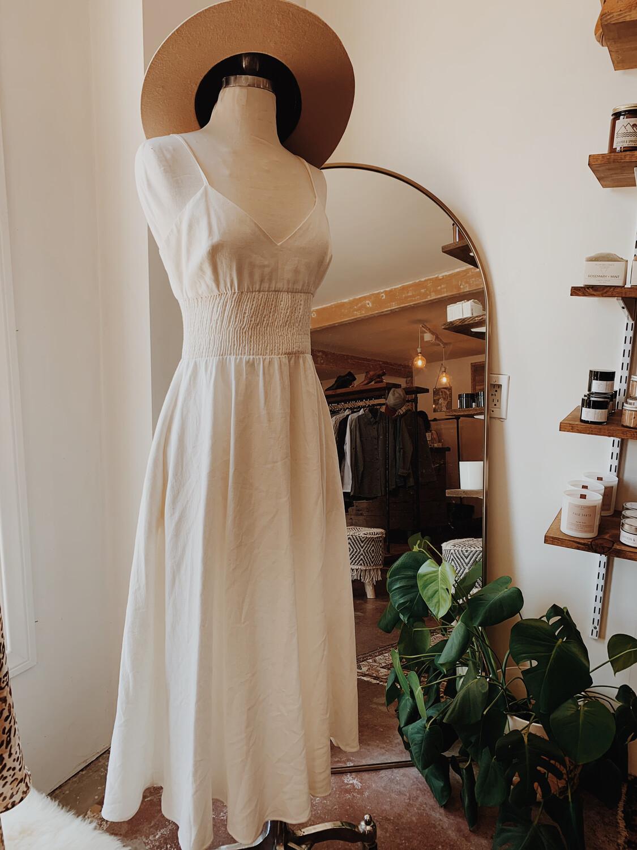 Women Zara Med Maxi White