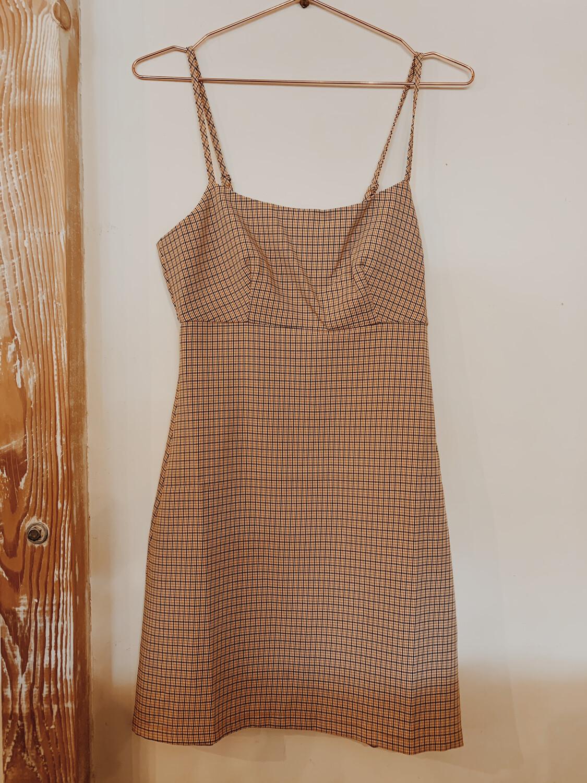 Women TWIIN XS Dress Plaid