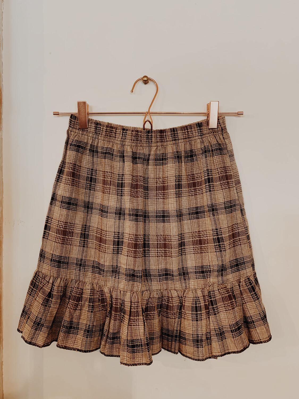 Women Pretty Little Thing 2 Skirt Plaid Brown