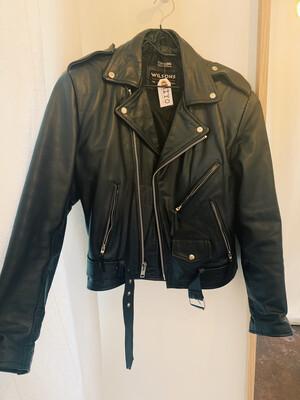 Men Wilsons Sm Leather Moto Jacket