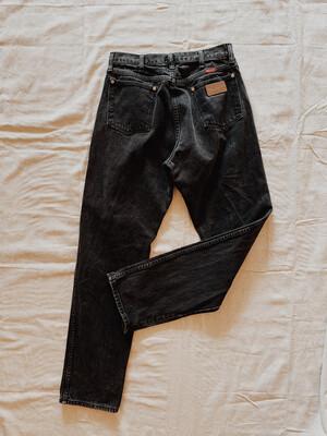Women Wrangler 30W Jeans High Rise Black