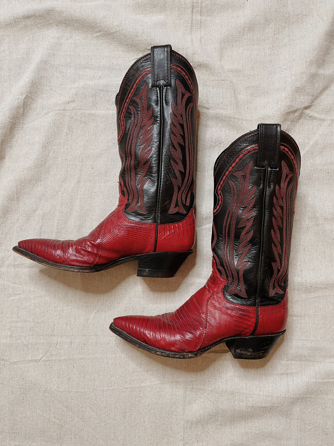 Women Justin 5/6 Western Boot Ted Black