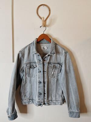 Women Calvin Klein Med Vintage Denim Light wash Jacket
