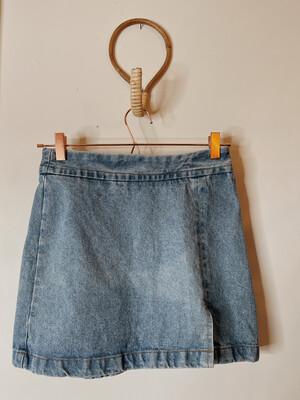 Women The One 7 Denim Skirt Vintage
