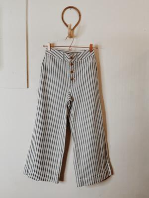 Women Madewell 26W Stripe Wide Leg