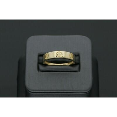 10 Karat Gold Fancy Band Ring