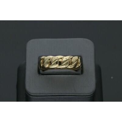 10 karat Gold Miami Cuban Link Ring