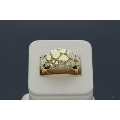 14 karat Gold Nugget Ring