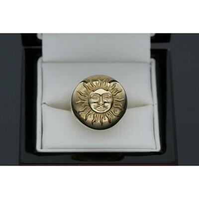 10 karat Gold Sun Ring