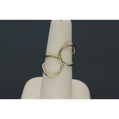 10 karat Gold Infinite ∞ Ring