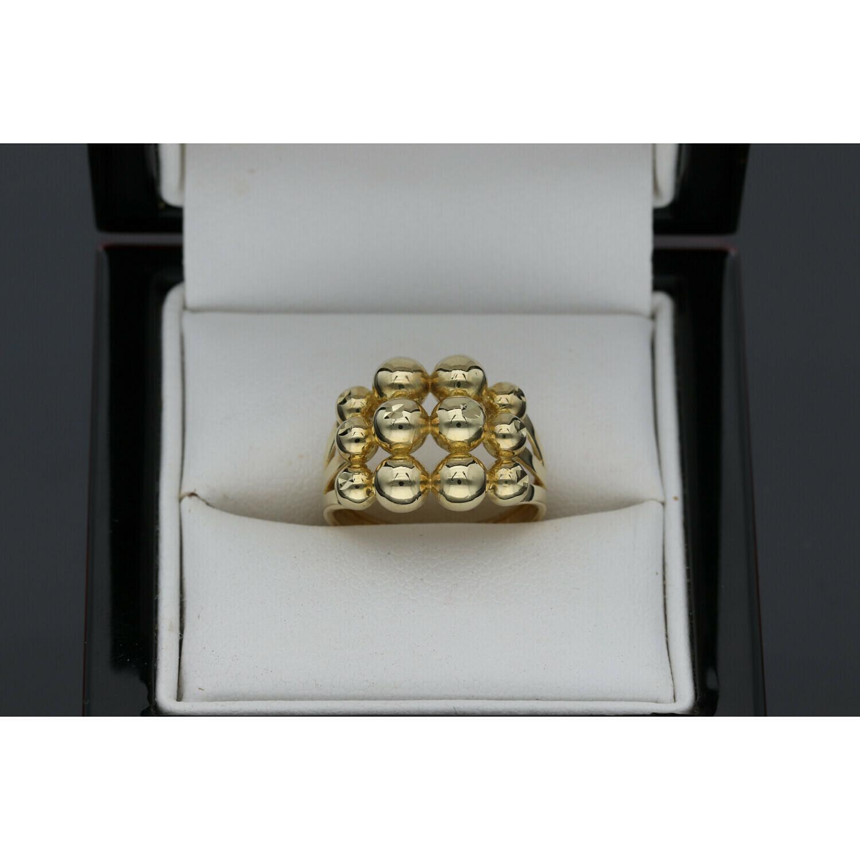 10 karat Gold Balls Ring