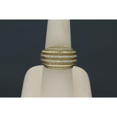 10 Karat Gold Filigrana Ring
