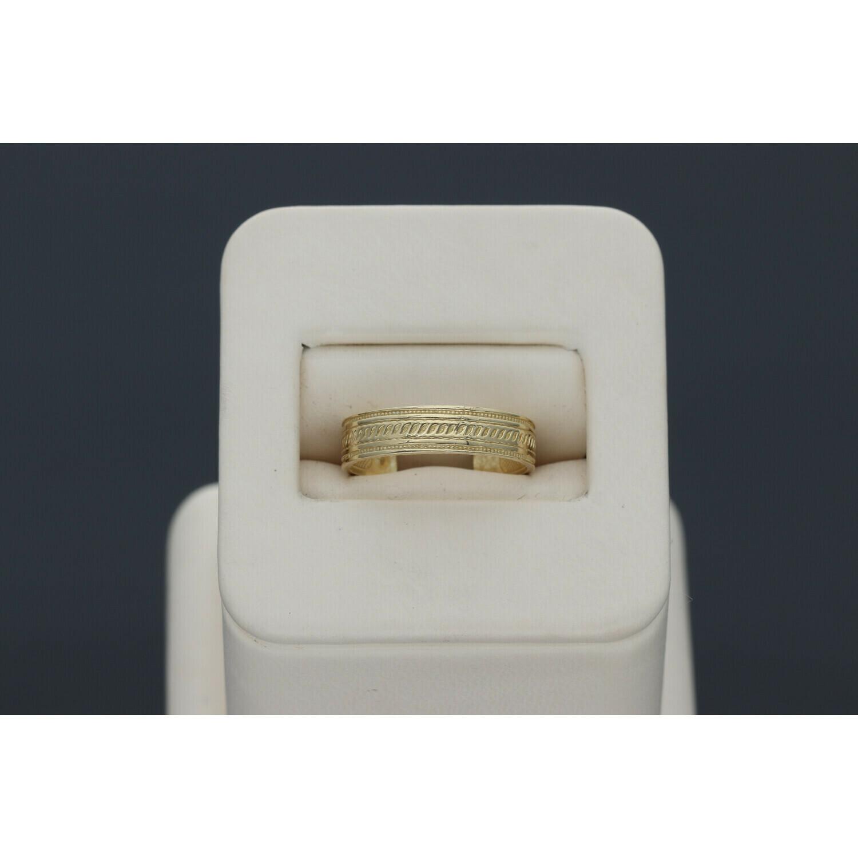 10 Karat Gold Fancy Toe open Ring
