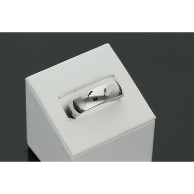 10 Karat White Gold Wedding Band Ring