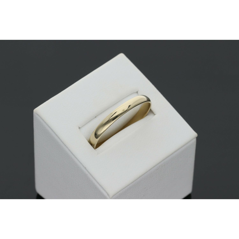 10 Karat Gold Thin Band Ring