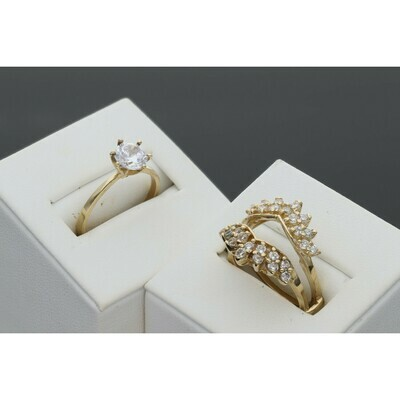 10 karat Gold & Ring Fancy For Woman Ring