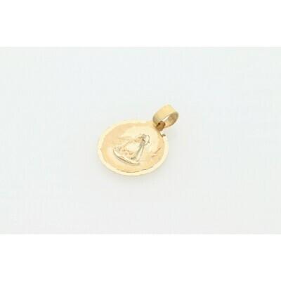 10 Karat Gold Tiny Caridad del Cobre Charm