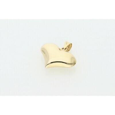 10 karat Gold Heart Charm W: 2.4 ~