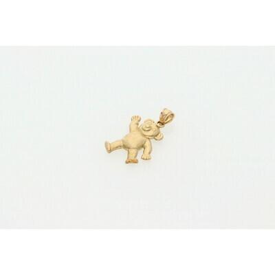 10 Karat Gold Teddy Bear Charm