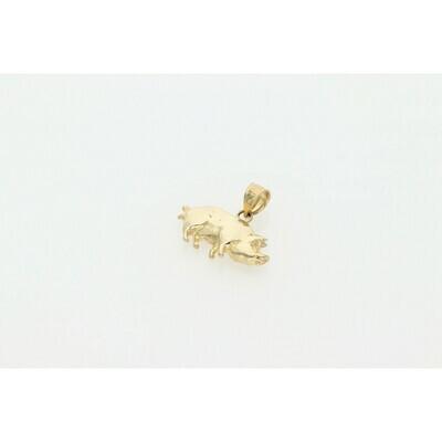 10 karat Gold Pig Charm