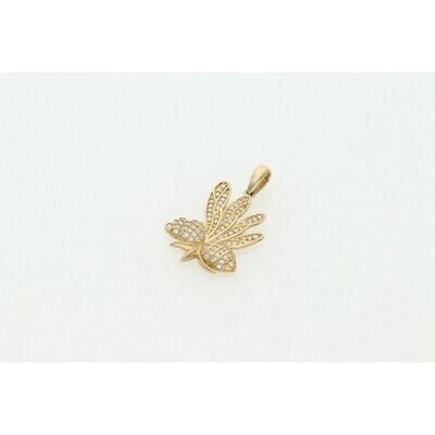 10 Karat Gold Bumblebee Charm