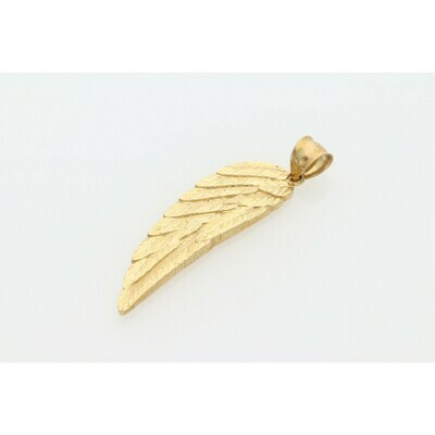 10 Karat Gold Wing Charm