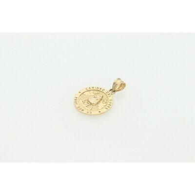 10 karat Gold Caridad del Cobre Medal