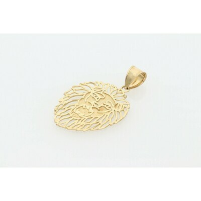10 karat Gold Lion Charm