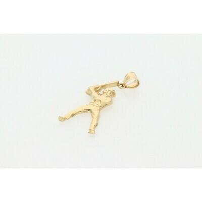14 karat Gold Beisbol Charm W: 2.6 ~