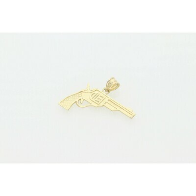 10 Karat Gold Gun Charm