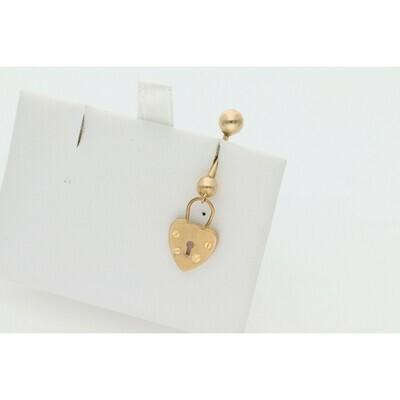 14 Karat Gold Piercing