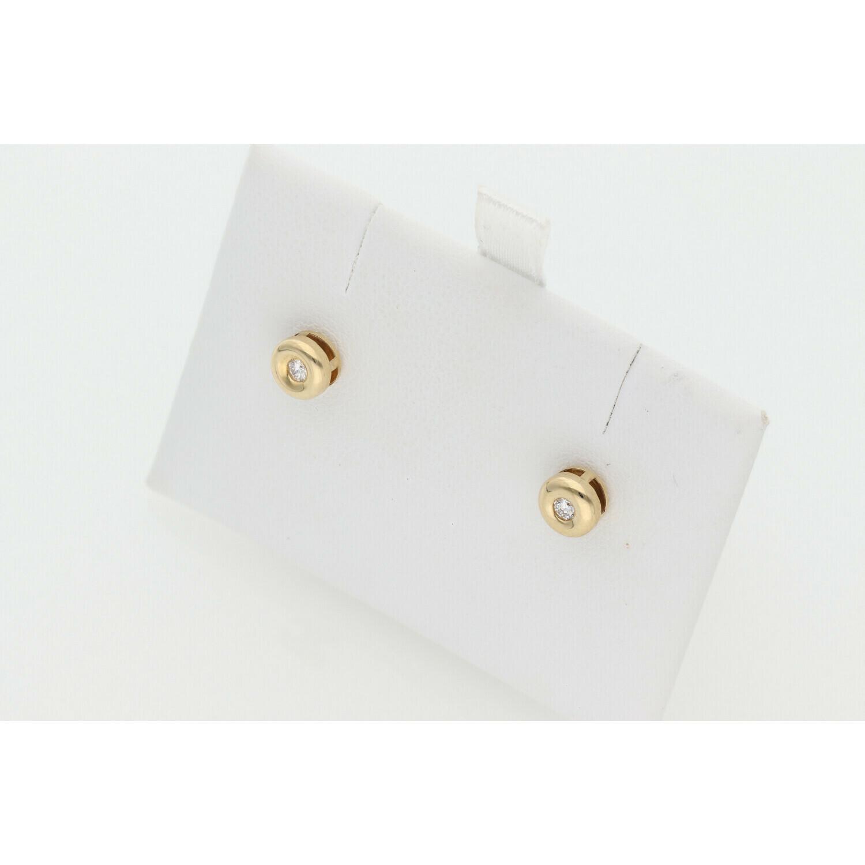 14 Karat Gold & Diamond G-VS2 Earrings