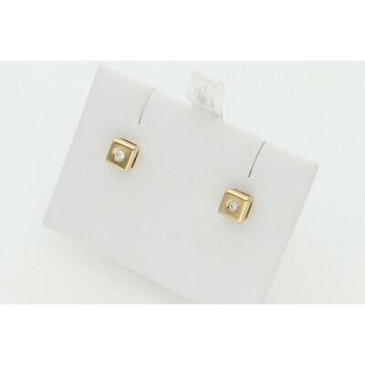 14 Karat Gold & Diamonds G-VS2 Earrings
