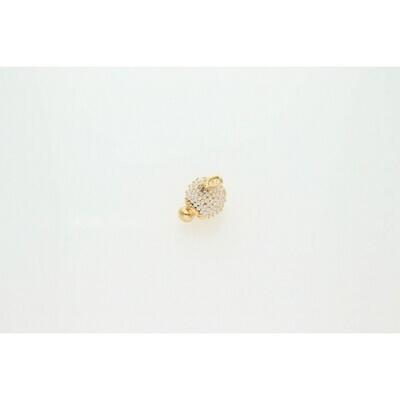14 Karat Gold & Pearl Fancy Turtle Charm