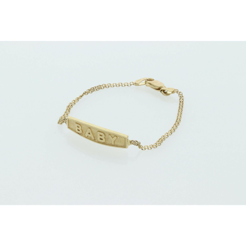 10 karat Gold Baby  Bracelet